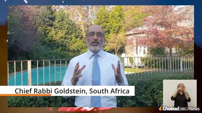 Rabbi Warren Goldstein, Chief Rabbi of South Africa