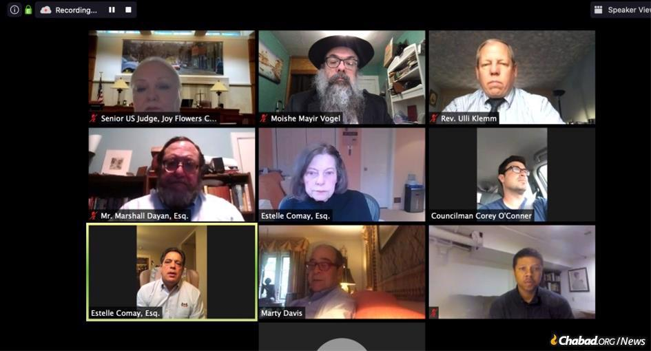 "At the 12th annual ""Second Chance"" Symposium, government officials, experts in the field, the head of corrections in Pennsylvania, and regional and head chaplains from prisons joined via Zoom, shedding light on the critical work of the Aleph Institute, both in the community and behind bars."