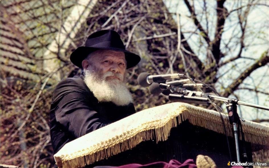 At the 1980 Lag BaOmer parade, the Rebbe, Rabbi Menachem M. Schneerson, of righteous memory, surprised the 20,000 spectators and those listening via audio transmission when he suddenly began speaking in Russian. In his 17 minute talk, he sent a message of hope to the Jews behind the Iron Curtain and an unambiguous notice to the Kremlin.