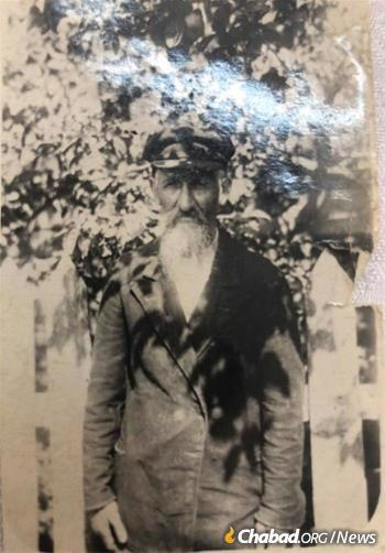 Rubashkin was born in the famed White Russian Chassidic town of Nevel, as were his parents and grandparents before him. Pictured is his grandfather, Sholom Rubashkin.