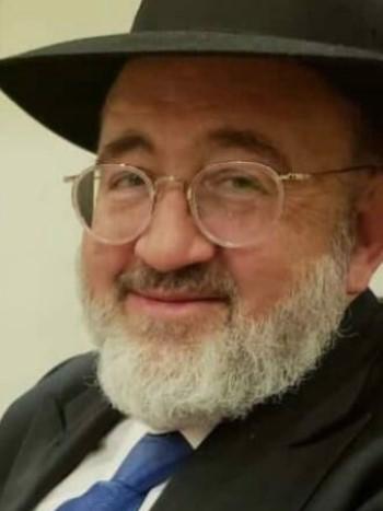 Zvi Yehuda Schmidt (Photo: Hamodia)