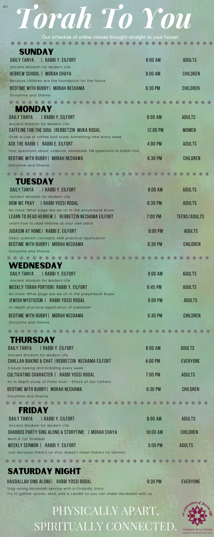 Chabad Virtual Academy schedule 2020.png