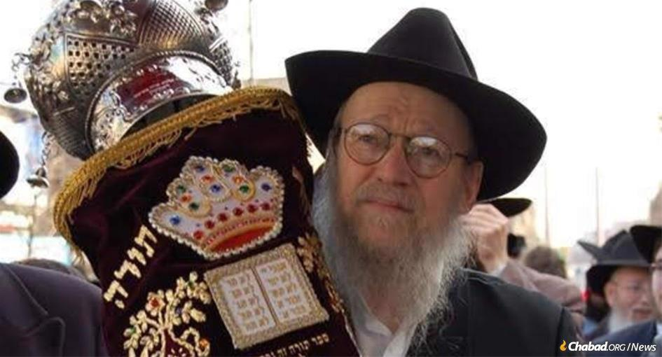 Rabbi Aharon Yaakov Schwei