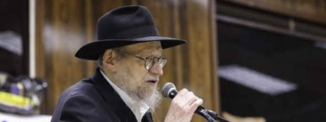May 2020: Rabbi Aharon Yaakov Schwei, 85, Beloved Rabbi of Crown Heights