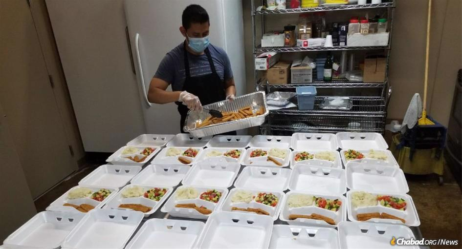 Due to the coronavirus pandemic, a record number of hot, fresh meals are being delivered to the doorsteps of Chicago's needy courtesy of Bubby Fira's Food Bank.