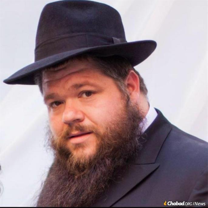 Rabbi Motti Kopman (Photo: Courtesy Chabad-Buffalo)