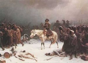 Napoleon's retreat from Moscow, winter of 1812–1813