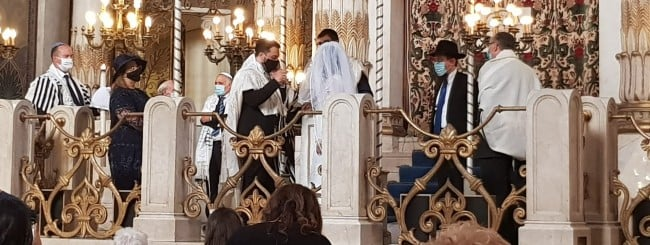 After National Shutdown, a Jewish Wedding to Remember in Rome