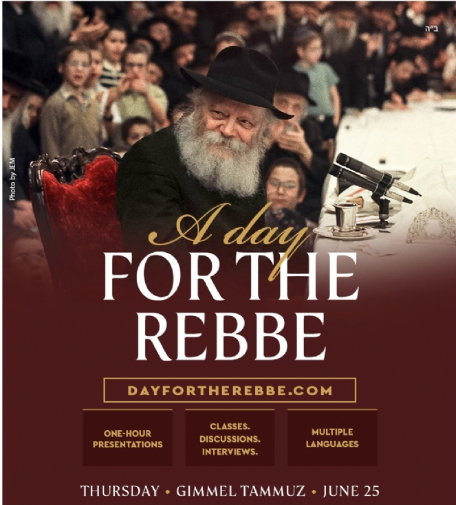 Day for the Rebbe 663