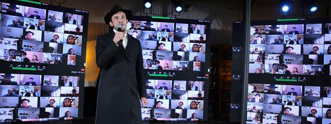 From 45,000 Devices, Largest Zoom Event Marks Anniversary of Rebbe's Passing