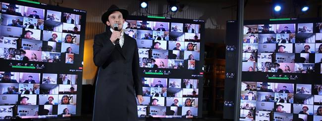 Untitled: From 45,000 Devices, Largest Zoom Event Marks Anniversary of Rebbe's Passing