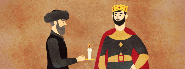 Chassidic Stories: The Rabbi and the King
