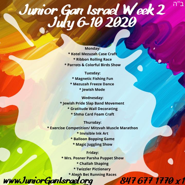 Junior Gan Israel Week 2 July 6-10 2020.png