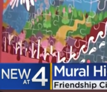 Friendship Circle mural in Fox Point embraces diversity