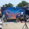 Chicago-Area Teens Team Up With Artist to Create Giant Wall Mural