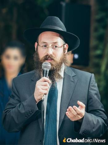 Rabbi Shneur Simcha Landa