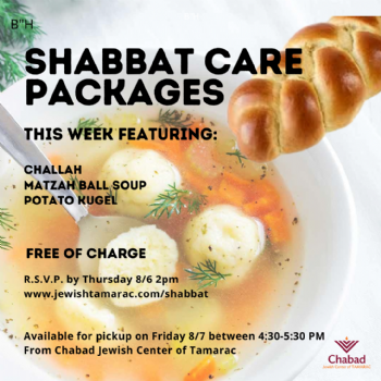 Shabbat Care Packages