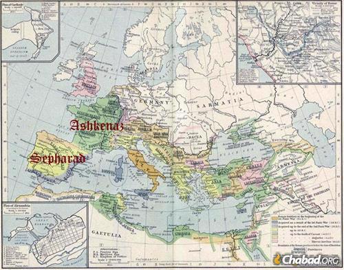 לאחר שקיעת הקהילות היהודיות בארץ הקודש ובבל, מצאו יהודים חיים חדשים באירופה, שם הם פרחו לאשכנז וספרד.