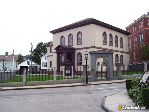 2009 photo of Touro Synagogue in Newport,Rhode Island, the oldest synagogue in North America