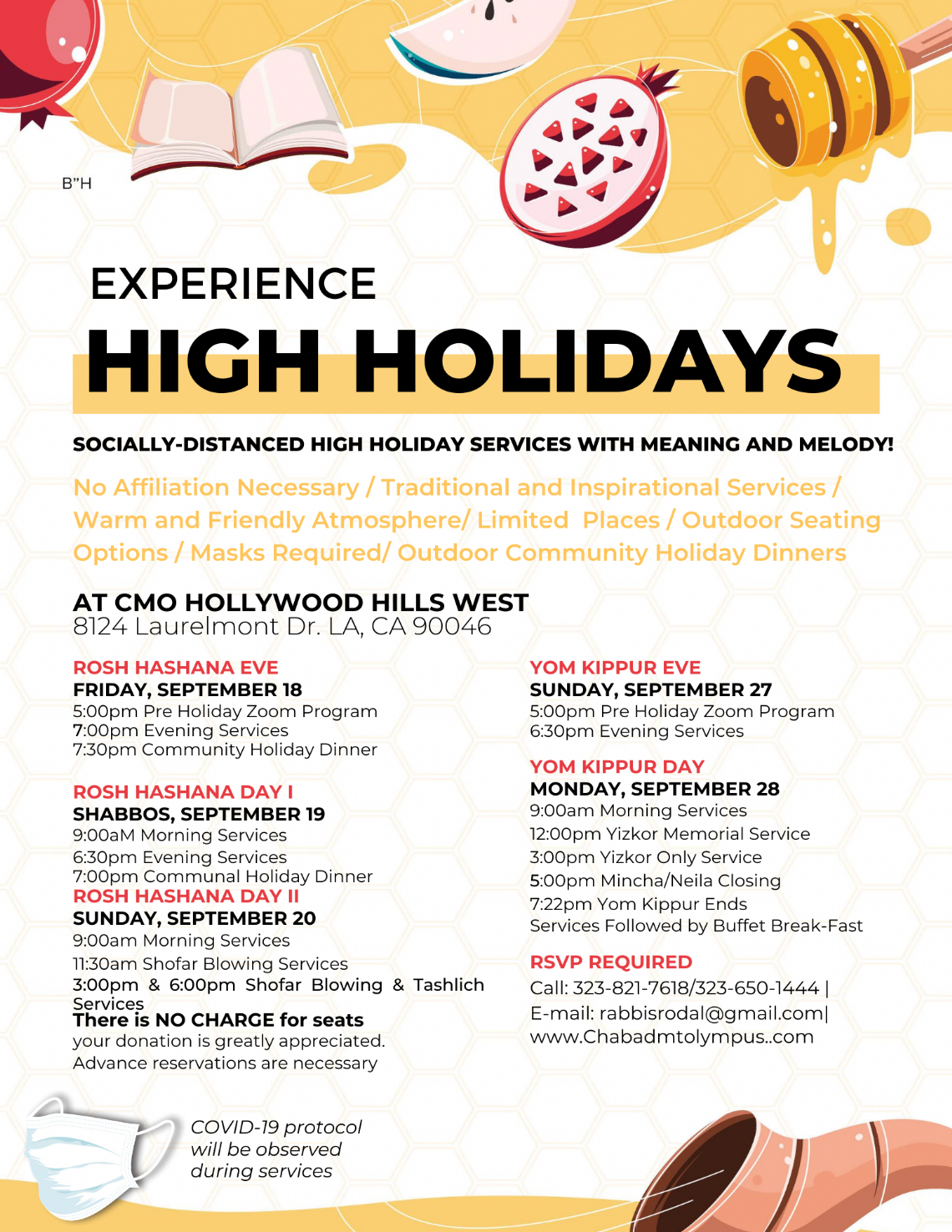 High Holidays - Flyer Schedule 2020.png
