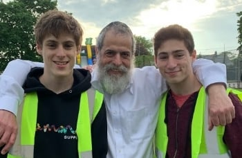 Rabbi & His Mitzvah Men
