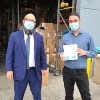 4 Million COVID-19 Masks Donated to Chabad Centers Before Rosh Hashanah