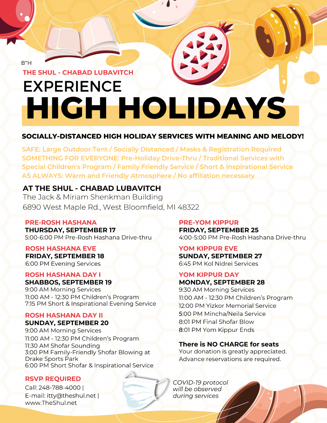 High Holidays - Flyer Schedule.png