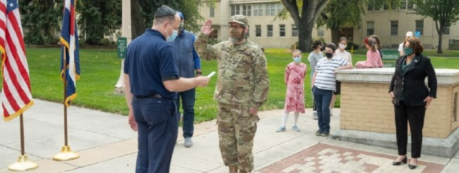 October 2020: Chassidic Rabbi and Award-Winning Professor Is Colorado's First Jewish Military Chaplain
