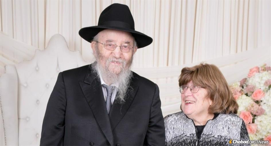Rabbi Ephraim and Miriam Rosenblum.