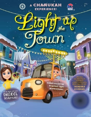 Light up the Town Chanukah Experience