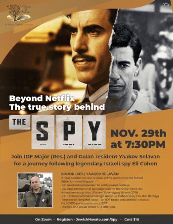 Beyond Netflix: the True Story Behind the Spy - Nov 29