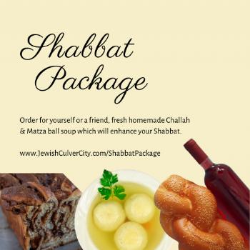 Shabbat Package Order
