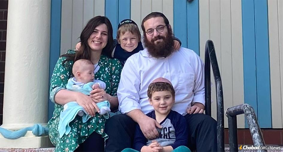 When Rabbi Yossi and Malki Rodal became co-directors of Chabad-Lubavitch of Newcastle, Australia, in June, he became the first resident rabbi since 1958 in one of Australia's oldest Jewish communities—one that they had been visiting for years.