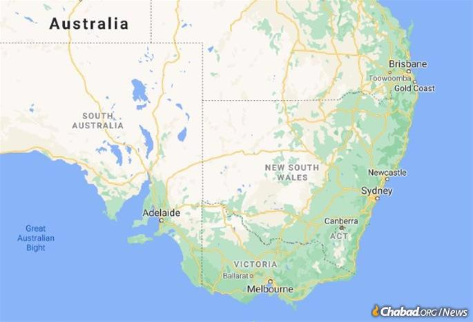 Newcastle is located on Australia's East Coast, a 100 mile drive north of Sydney. (Map: Google)