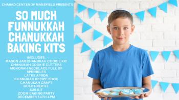 So Much Funnukkah Chanukah Baking Kits