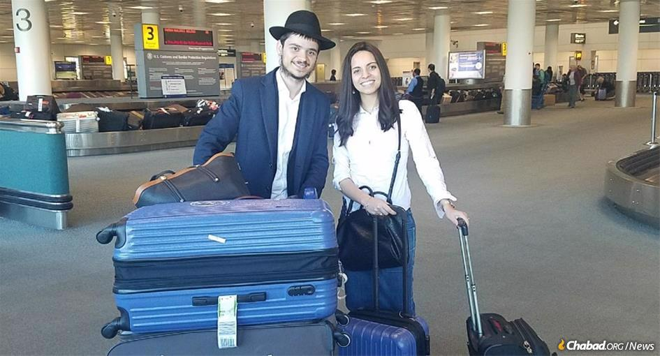 After meeting enough Jewish residents who said they were the only Jews in town, Rabbi Aharon and Chaya Mushka felt that it was time to bring Chabad's presence to Ville-d'Avray permanently.