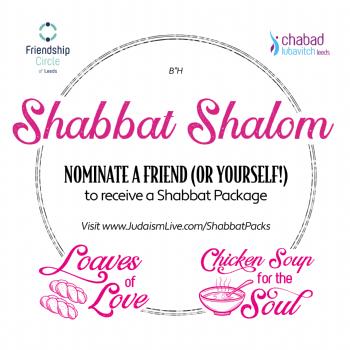 Shabbat Packs