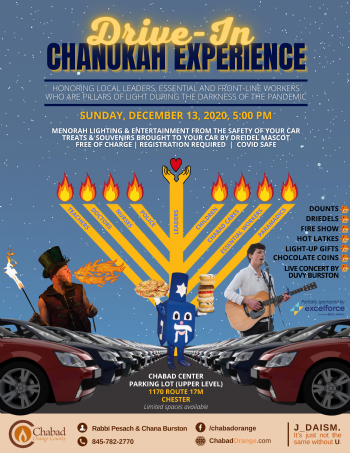 Drive-In Chanukah Experience