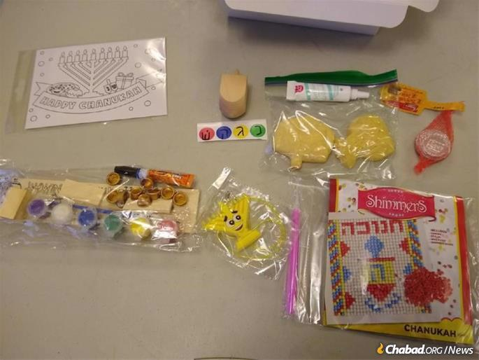 The Hanukkah toolbox will contain items to help make the holiday mearningful and entertaining.