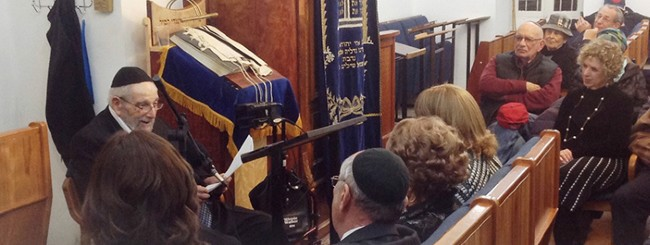 January 2021: Rabbi Fabian Schonfeld, 97, National Rabbinic Leader