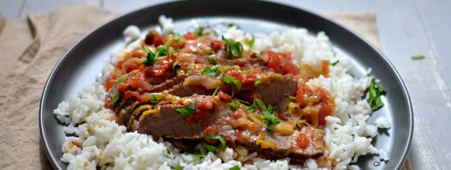 Meat: Savory Tomato-Olive Brisket With Herbs de Provence