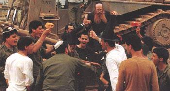 Purim at IDF