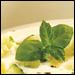 Syrian Cucumber-Mint Soup & Zucchini Soufflé