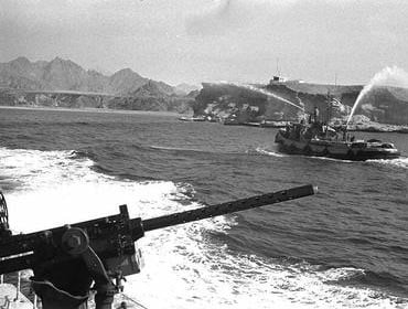 Israeli forces reach the Straits of Tiran and intensive fighting ensued. Photo: Yaacov Agor/ Israel National Photo Archive