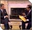 Senator Hecht and President Reagan