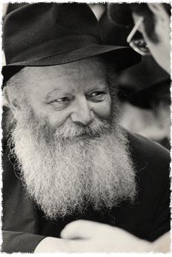 The Rebbe, Rabbi Menachem Mendel Schneerson, of righteous memory