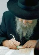 Israeli scribes pass the word