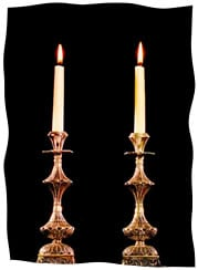 Getting Even With The Shabbat Candles
