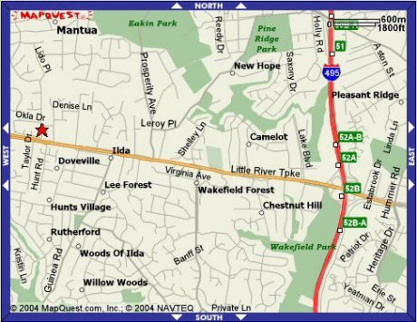 Maps And Directions Chabad Lubavitch Of Northern Virginia