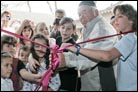 Celebrating a Quarter Century with New Building and Torah Scroll